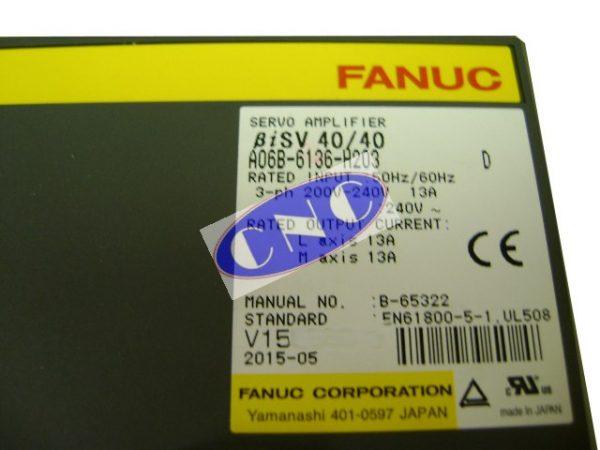 biSV40/40 servo amplifier