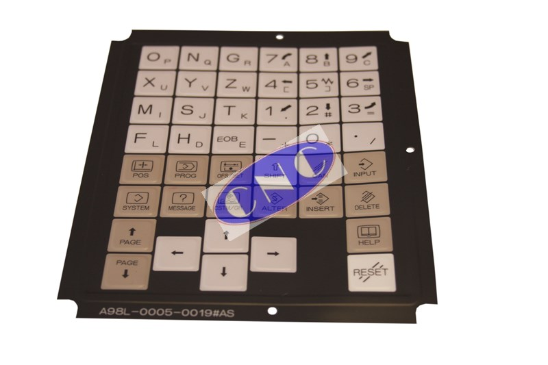 a98l-0005-0019#as Fanuc keysheet membrane cover