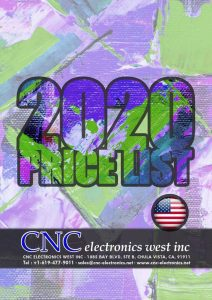 CNC West Pricelist
