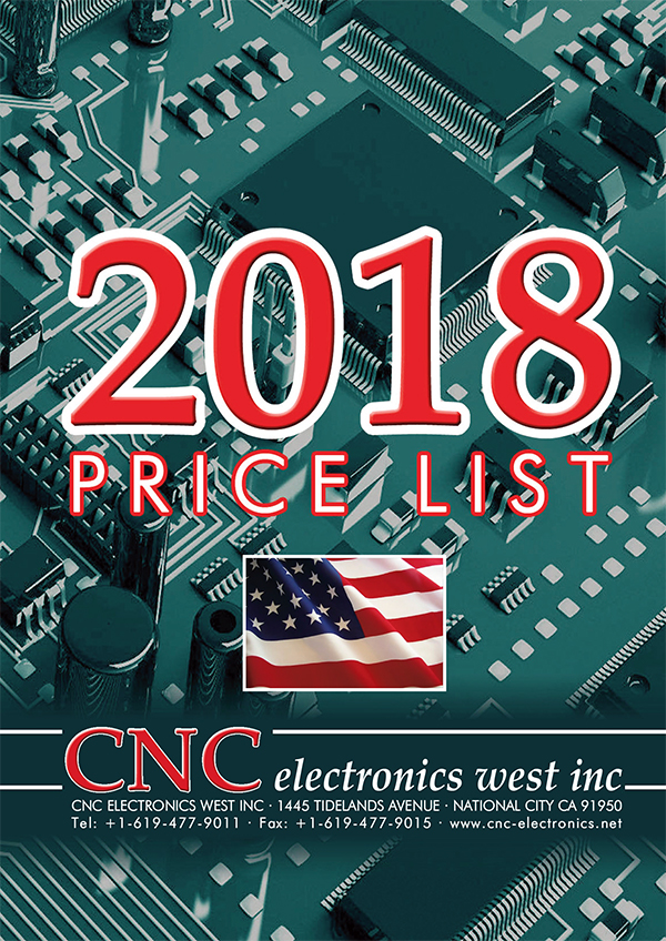 2018 catalogue - CNC Electronics West