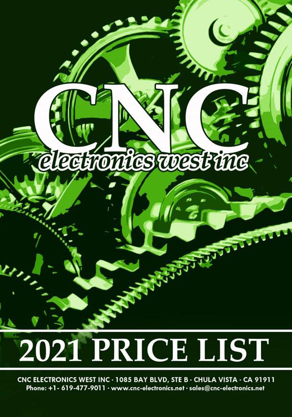 CNC West 2021 fanuc parts pricelist